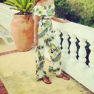 Hot Miami styles two piece tropical outfit